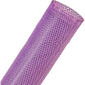 Techflex PTN1.50 200 Expandable Braided Sleeving - 1 Inch to 2 1/8 Inch - Purple - 200 Foot