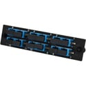 TechLogix ECO-P-S2-SC6D ECO Mounting Panel - 1 Slot - Single Mode OS2- 6 Duplex SC