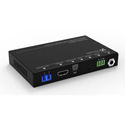 TechLogix TL-FO2-HDC2 18Gbps HDMI 2.0 HDCP 2.2 Extender Set with IR RS-232 - ARC Over Dual LC Fiber With 1000 Foot Range