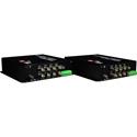 Thor F-8V-TxRx 8 Channel Composite Video Over Fiber Transmitter and Receiver