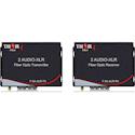 Thor Fiber F-2A-XLR-T/RX 2 XLR Balanced Audio over Fiber Transmitter/Receiver kit - up to 20KM Singlemode/3000feet Multi