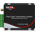 Thor F-2CC-B-TXRX 4 Contact Closures/TTL Over Fiber Transmitter/Receiver Kit - 2 Bi-Directional - 12.4 Miles/20km