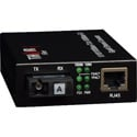 Thor Fiber F-GET-TRS-A Enhanced 10/100/100Base-T to 1000 Base-FX Single Fiber Media Converter - Transmitter