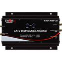 Thor H-RF-AMP-30 Distribution Amplifier 30db 54-1000Mhz COAX CATV QAM ATSC Analog RF