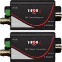 Thor Fiber F-M1SDI-Tx-Rx 1Ch HD-SDI Transmitter & Receiver Kit Over Singlemode Fiber ST/PC 20km Simplex