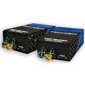 Fiberplex TKIT-3GXC-M TD-6010 (Pair) 3GSDI Video to Multimode Optical Conversion Transceiver - Optimized 850nm w /  AC Pwr