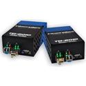 Fiberplex TKIT-HDMI-M TD-6010 (Pair) HDMI Video to Multimode Optical Conversion Video Optimized 850nm - 500m w /  AC Power