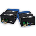 Fiberplex TKIT-HDMI-S TD-6010 (Pair) HDMI Video to Singlemode Optical Conversion Video Optimized 1310nm 20km w/ AC Power