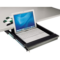 MCS TN-LTD Under Desk Mount Lockable Laptop Drawer for Laptops to 17 In.