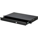 MCS TN-RD1 1RU Rack Drawer - Lockable with Slam Lock