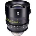 Tokina Cinema TO-KPC-3005EF Vista 25mm T1.5 Prime Lens- EF Mount