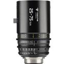 Tokina Cinema TO-TC-2575PL 25-75mm T2.9 Lens - PL Mount