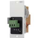 TOA B-01S T 900 Series Balanced Line Input Module - 10k Ohms Transformer - Removable Terminal Block
