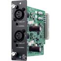 Toa D-921F Two Mic/Line Balanced 24-Bit A/D Input Module ( XLR-F Connectors)