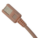 Tram TR-50 Lavalier Mic with Lectrosonics TA5F Positive Bias Tan