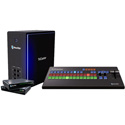 Newtek TCM4KUHDB TriCaster Mini UHD 4K Bundle with Control Surface
