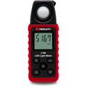 Triplett LT80 LED Light Meter - White LED Light Sources up to 40000 Fc