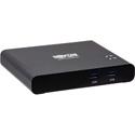 Tripp Lite B003-HC2-DOCK1 USB-C KVM Dock 2-Port 4K HDMI USB-A Hub PD Charging USB 3.2 Gen 1