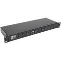 Tripp Lite B024-DUA8-DL 8 Port KVM Switch DVI USB with Audio and USB Peripheral Sharing - 1URM