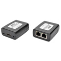 Tripp Lite B125-101-60-IRU HDMI over Dual Cat5/Cat6 Extender Kit In-Line TX/RX for Video & Audio 1080p - IR