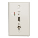 Tripp Lite B126-1A0-WP-1 HDMI over Cat5/Cat6 Active Extender Wallplate Receiver for Video & Audio - Up to 200 Feet