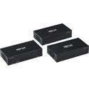 Tripp Lite B127-002-2H2 HDMI Over Cat6 Extender Splitter Kit with PoC 2-Port 4K - 4:4:4 TAA