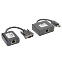 Tripp Lite B150-1A1-DVI DisplayPort to DVI over Cat5/6 Active Extender KitPigtail-Style Transmitter/Receiver - 125 Ft