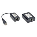 Tripp Lite B203-104-PNP 4-Port Plug-and-Play USB 2.0 over Cat5/Cat6 Extender Hub Kit Transmitter/Receiver - 164 ft