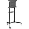 Tripp Lite DMCS3770ROT Mobile TV Floor Stand Cart Rotating Portrait / Landscape - 37-70 Inch