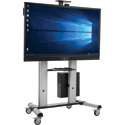 Tripp Lite DMCSTP65CBP Mobile Interactive Display with Heavy-Duty Stand Cart - 4K - 65 Inch