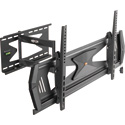 Tripp Lite DWMSC3780MUL Heavy-Duty Full-Motion Security TV Wall Mount for 37 to 80 Inch Flat or Curved TVs