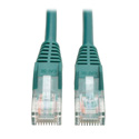 Tripp Lite N001-003-GN Cat5e 350MHz Snagless Molded Patch Cable (RJ45 M/M) - Green 3 Feet