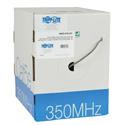 Tripp Lite N022-01K-GY Cat5e 350MHz Bulk Solid-Core PVC Cable - Gray 1000 Feet