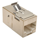 Tripp Lite N235-001-SH-6A Cat6a Straight-Through Modular Shielded In-Line Snap-In Coupler (RJ45 F/F)