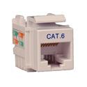 Tripp Lite N238-001-WH 110 Punchdown Jack Cat6/Cat5e - White