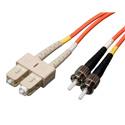 Tripp Lite N304-003 Duplex Multimode 62.5/125 Fiber Patch Cable (SC/ST) 3 Feet