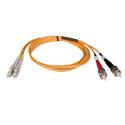 Tripp Lite N318-01M Duplex Multimode 62.5/125 Fiber Patch Cable (LC/ST) 3 Feet