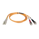 Tripp Lite N518-01M Duplex Multimode 50/125 Fiber Patch Cable (LC/ST) 3 Feet