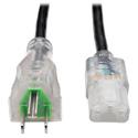 Tripp Lite P006-003-HG13CL Hospital-Grade Computer Power Cord - Clear Plugs 13A 16  AWG (NEMA 5-15P - IEC-320-C13) 3 ft.