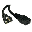 Tripp Lite P049-010 10ft Heavy Duty Power Cord 12AWG 20A 125V C19 to 5-20P 10 Foot