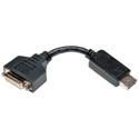 Tripp Lite P134-000 DisplayPort Male to DVI-I Single Link Female Adapter