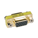 Tripp Lite P160-000 Compact/Slimline VGA Video Coupler Gender Changer (HD15 F/F)