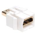 Tripp Lite P164-000-KJ-WH HDMI Keystone Wallplate Coupler White (HDMI F/F)
