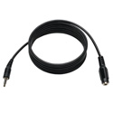 Tripp Lite P318-006-MF 3.5mm Mini Stereo Audio 4 Position TRRS Headset Extension Cable (M/F) 6 Feet