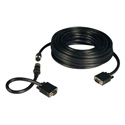 Tripp Lite P503-050 VGA Coax Easy Pull Monitor Cable High Resolution Cable with RGB Coax (HD15 M/M) 50 Feet