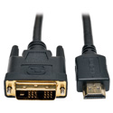 Tripp Lite P566-003 HDMI to DVI Cable Digital Monitor Adapter Cable (HDMI to DVI-D M/M) 3 Feet