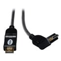 Tripp Lite P568-003-SW High Speed HDMI Cable with Swivel Connectors Ultra HD 4K x 2K Digital Video - Audio (M/M) 3 Feet