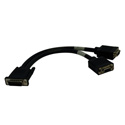 Tripp Lite P574-001 DMS-59 to Dual VGA Splitter Y Cable (M to 2xF) 1-Foot