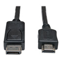 Photo of Tripp Lite P582-003 DisplayPort to HD Cable Adapter (M/M) 3 Feet