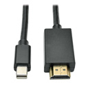 Tripp Lite P586-006-HDMI Mini DisplayPort to HD Cable Adapter (M/M) 6 Feet